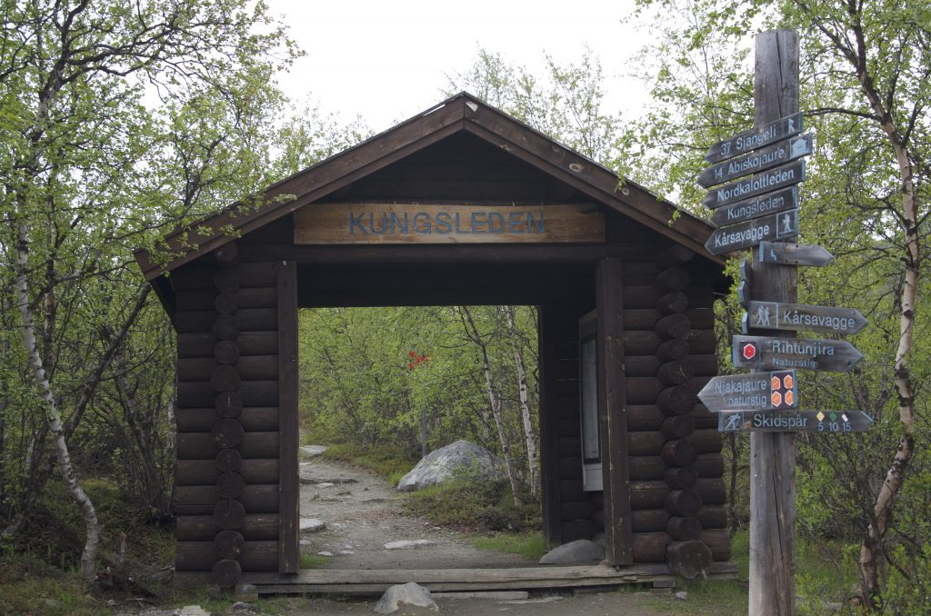 Abisko Turistation Kungsleden Entrance