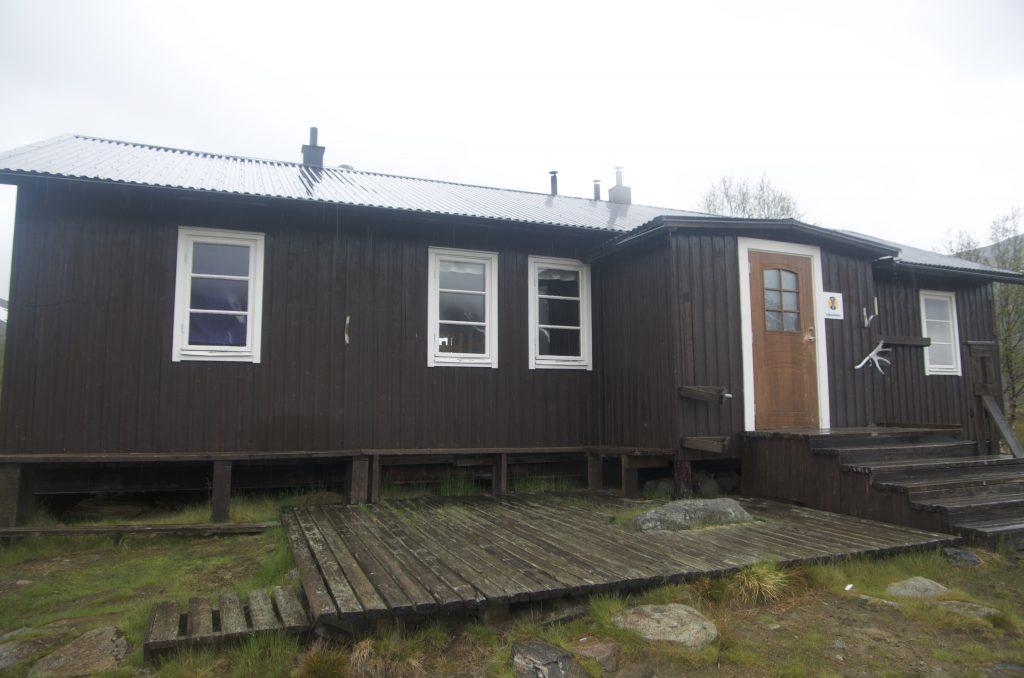 Kungsleden Kaitumjaure STF Hut
