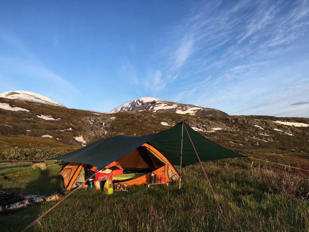 Taltlagret Tent (Kungsleden)