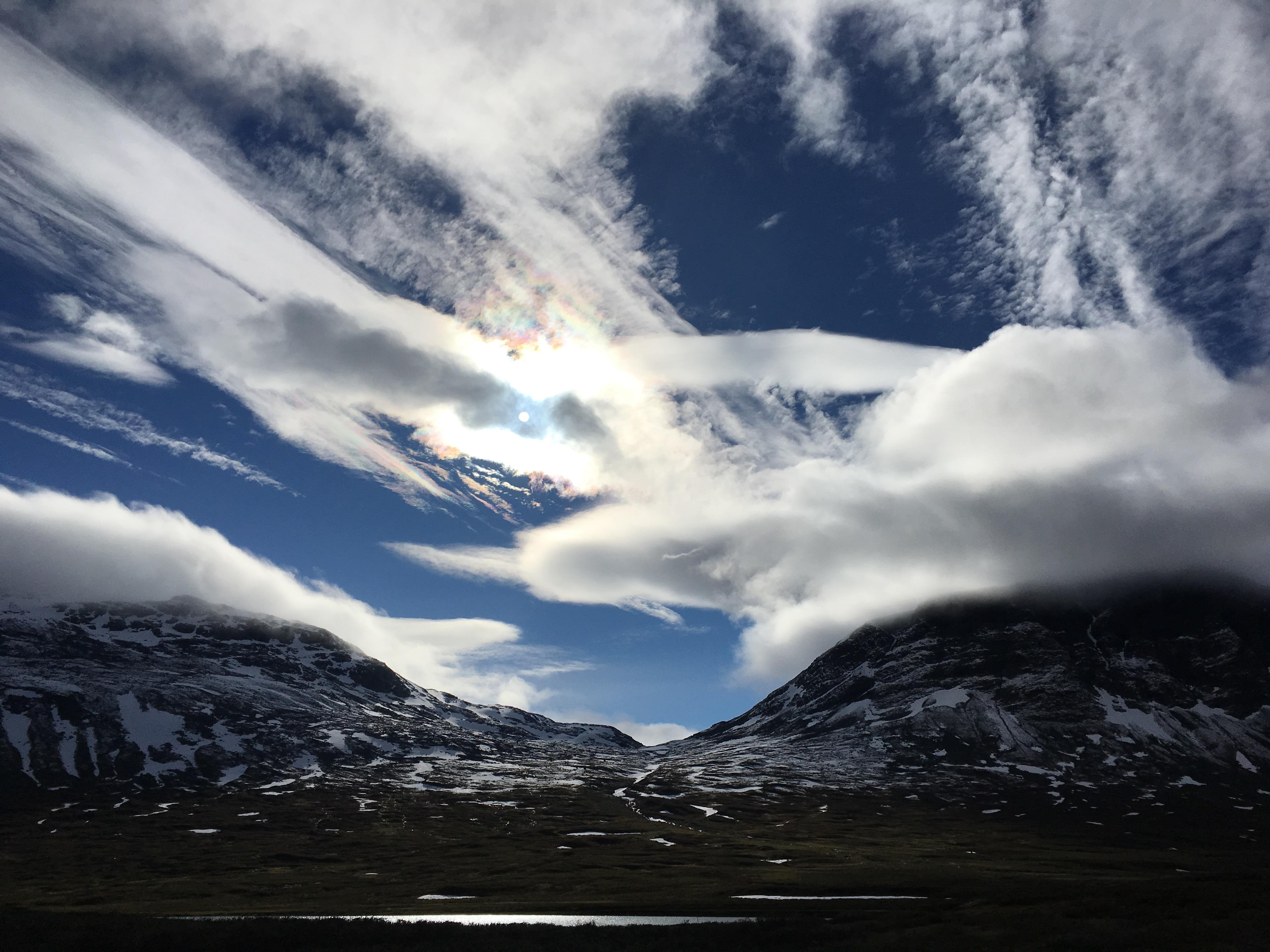 Sweden의 흔한 하늘