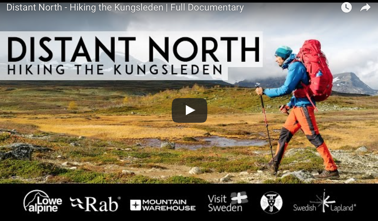 Distant North Kungsleden Youtube Documentary