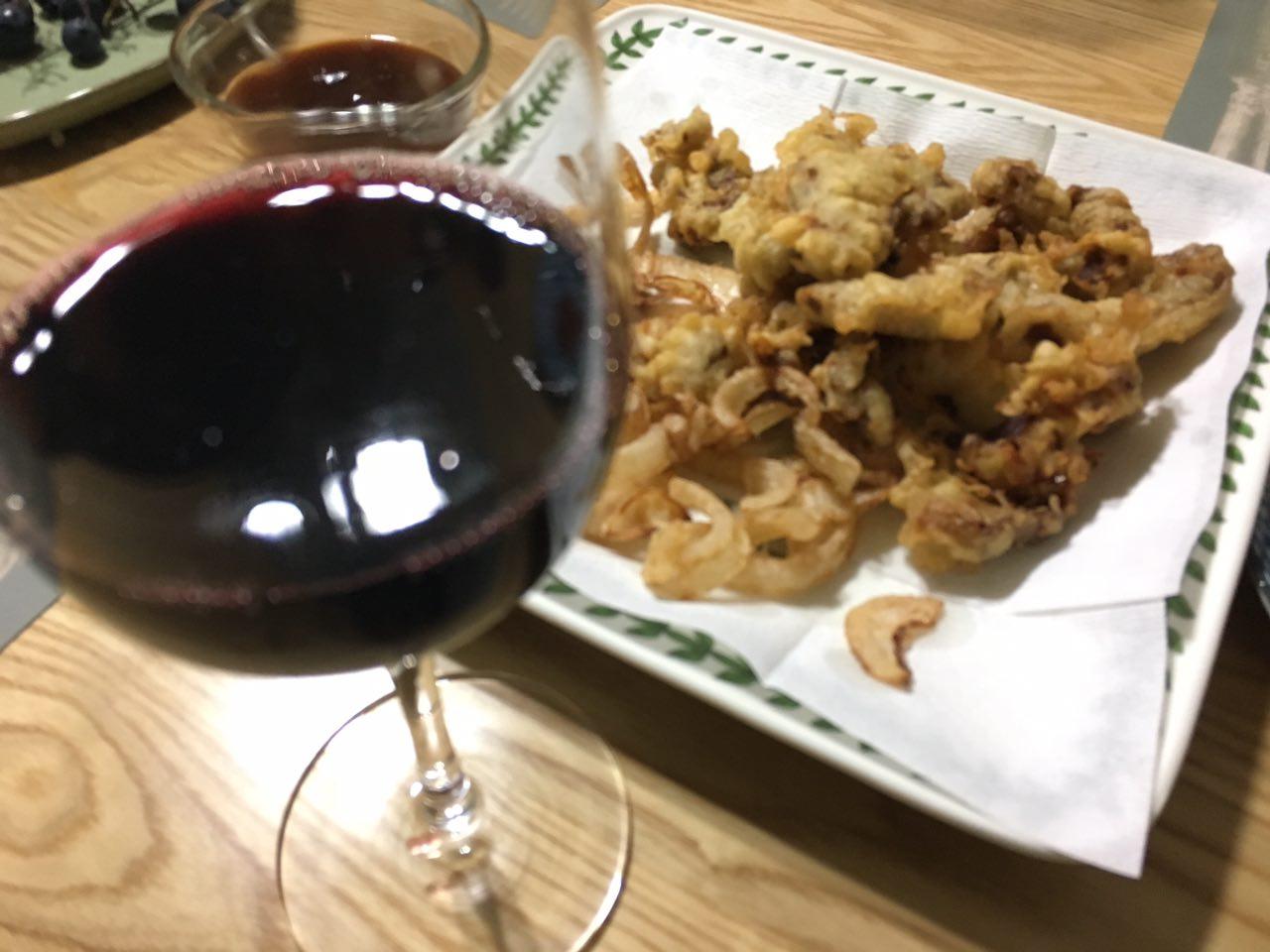 탕수육과 와인