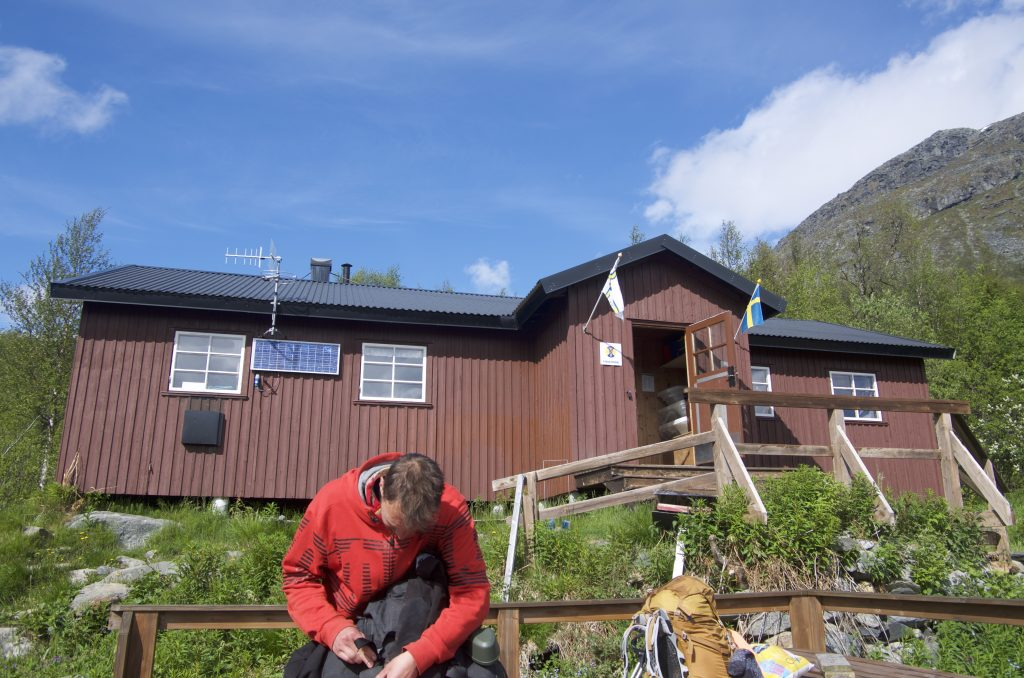 Kungsleden Vakkotavare STF Hut