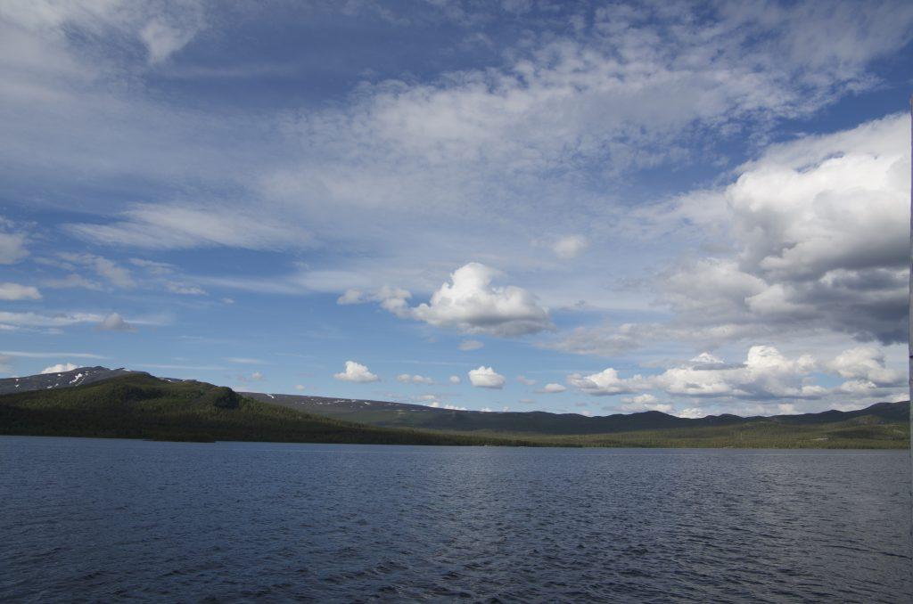 Kungsleden Lake Langas