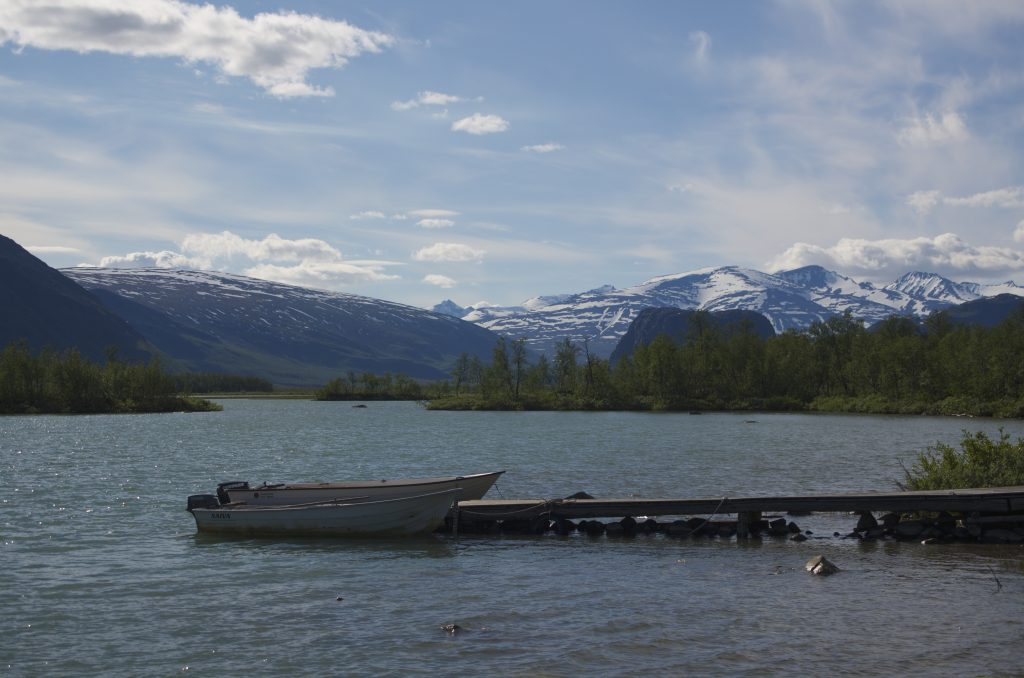 Kungsleden from Aktse to Parte Boat