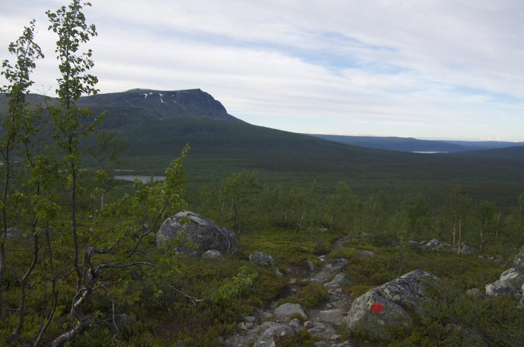 Kungsleden from Aktse to Parte