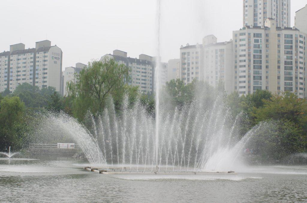 분당 중앙공원 분수