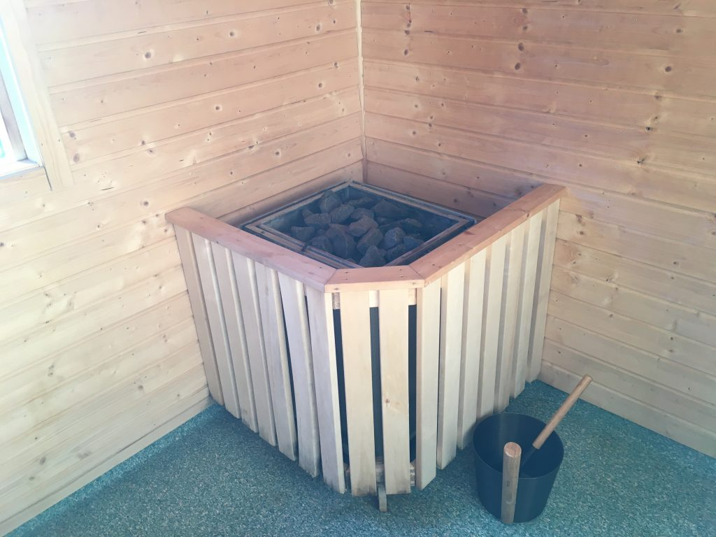 Sauna Saltoluokta