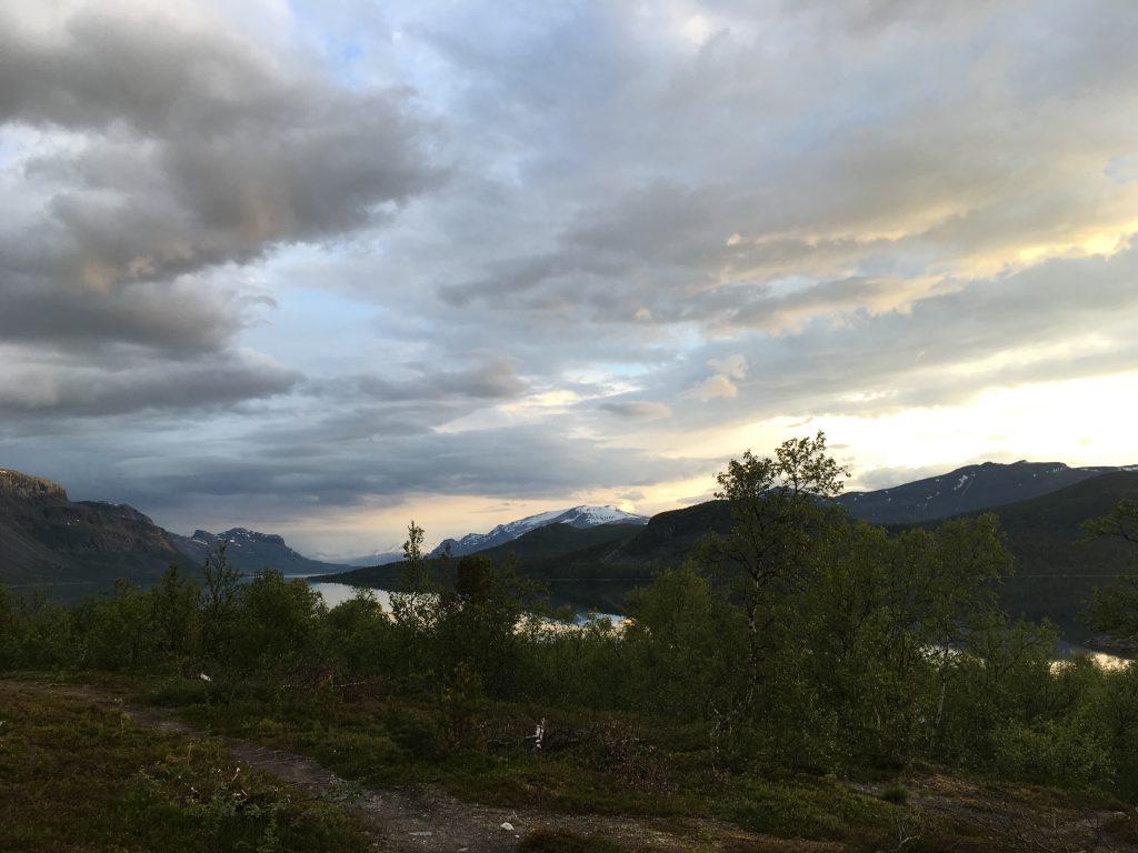 Saltoluokta 새벽 풍경 (3시)