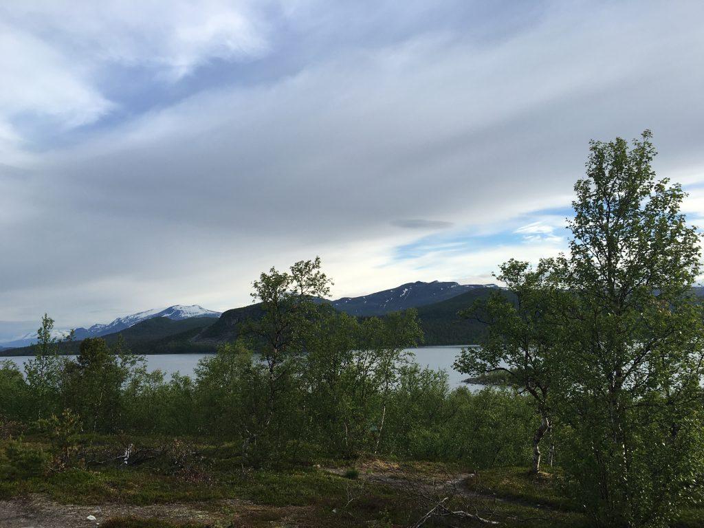 Saltoluokta 아침 풍경 (6시)