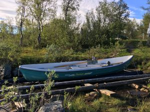 Boat in Sitojaure