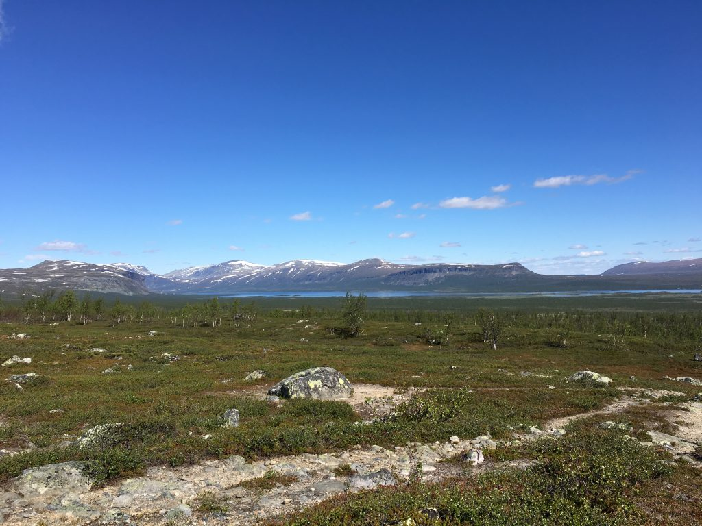 Kungsleden from Sitojaure to Aktse