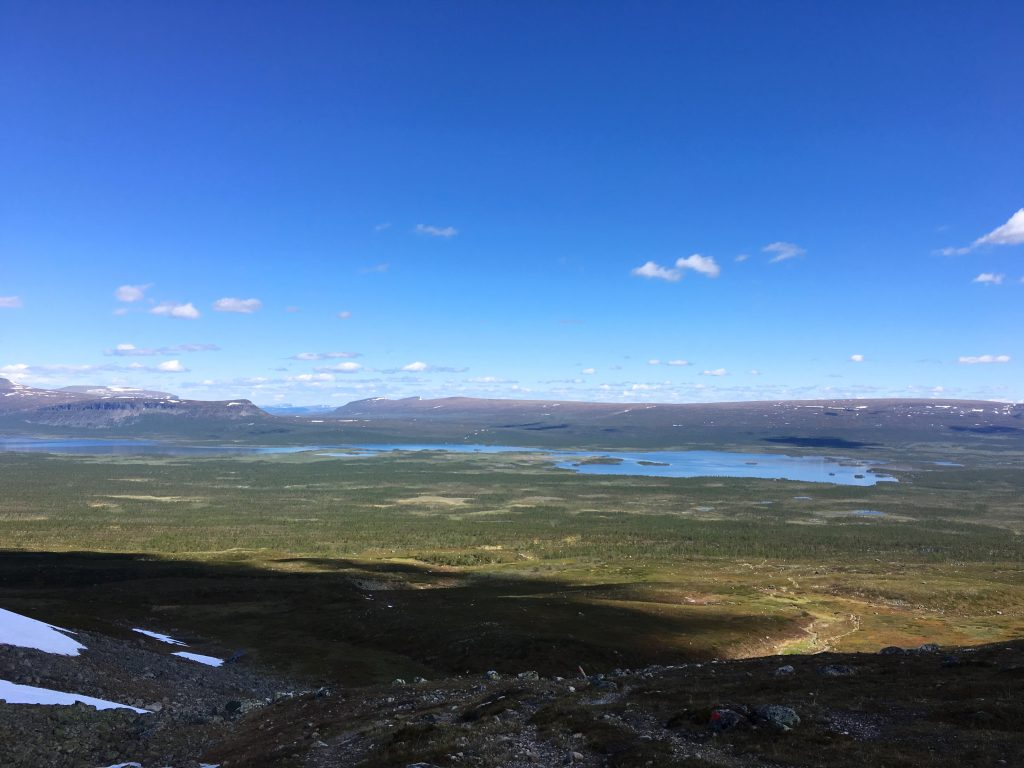 Kungsleden from Sitojaure to Aktse 2016-06-25