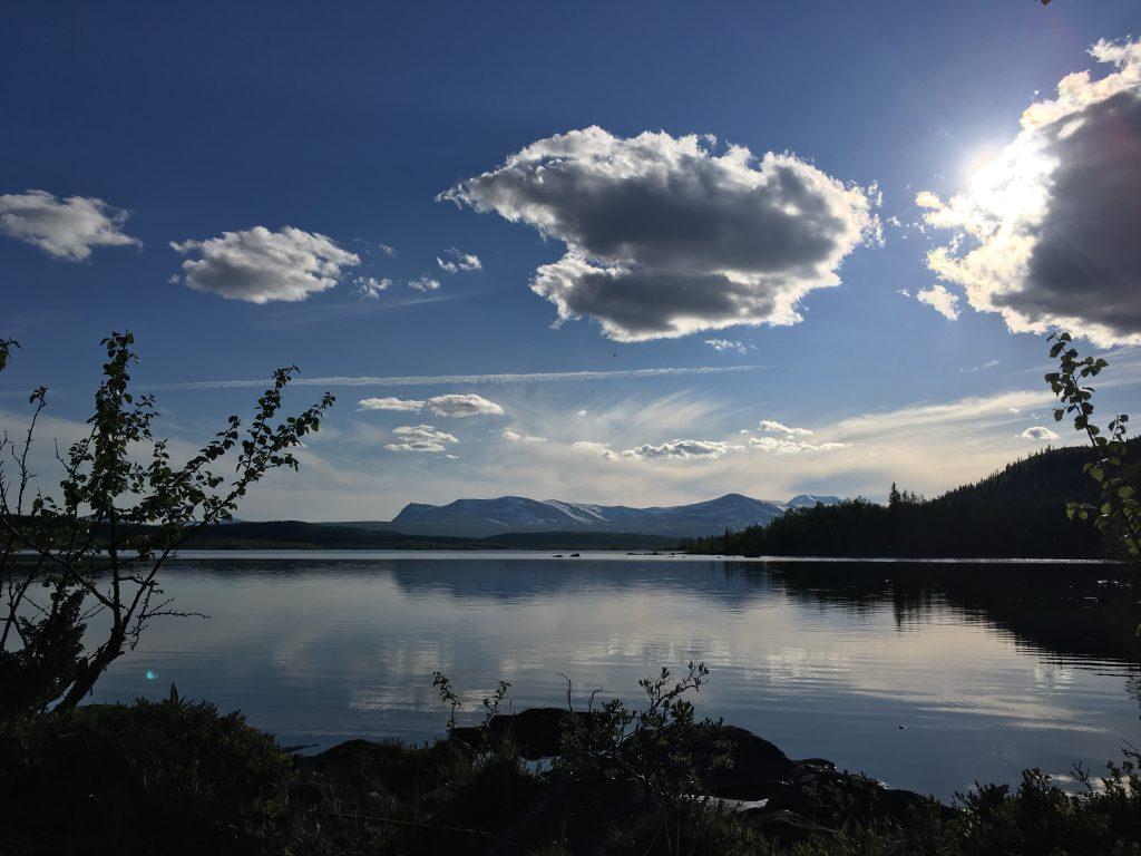 Kungsleden from Parte to Kvikkjokk