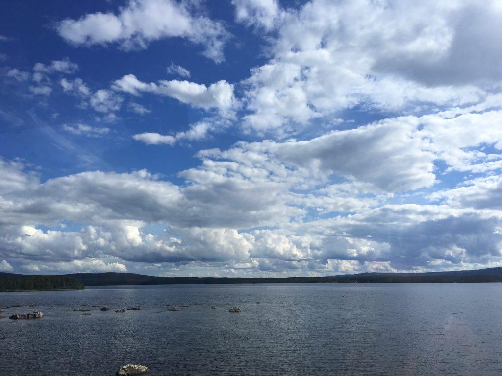 Sweden의 하늘