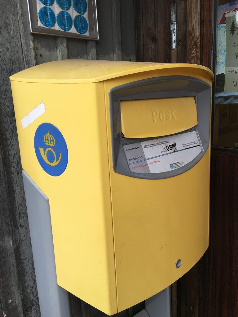Sweden Post Box