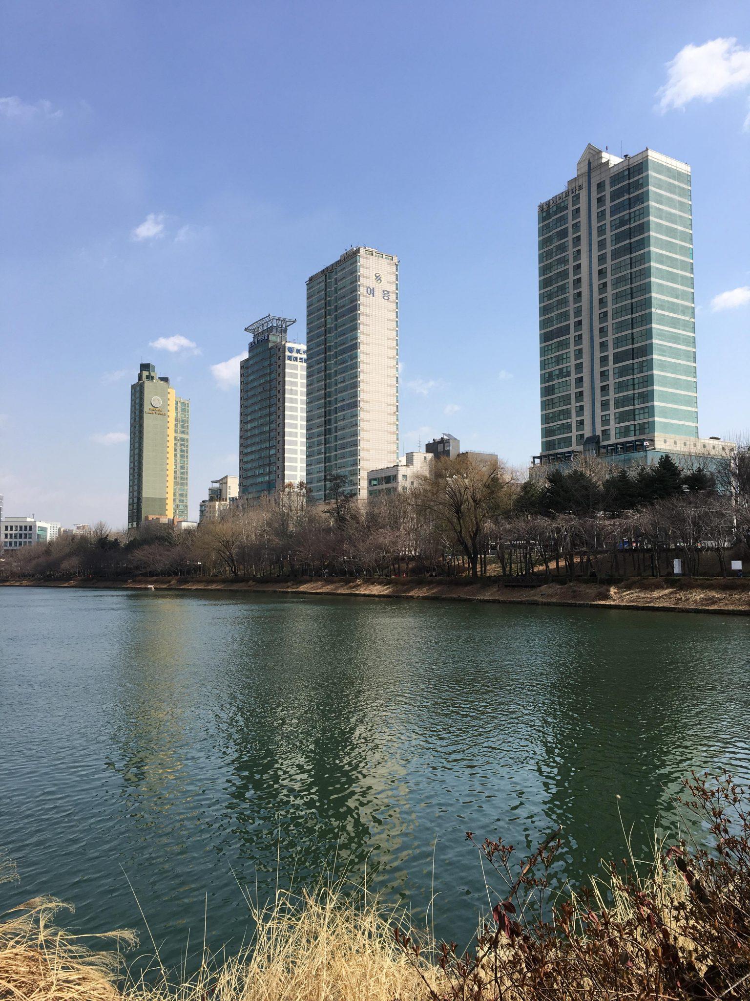 석촌호수 여흥 아파트