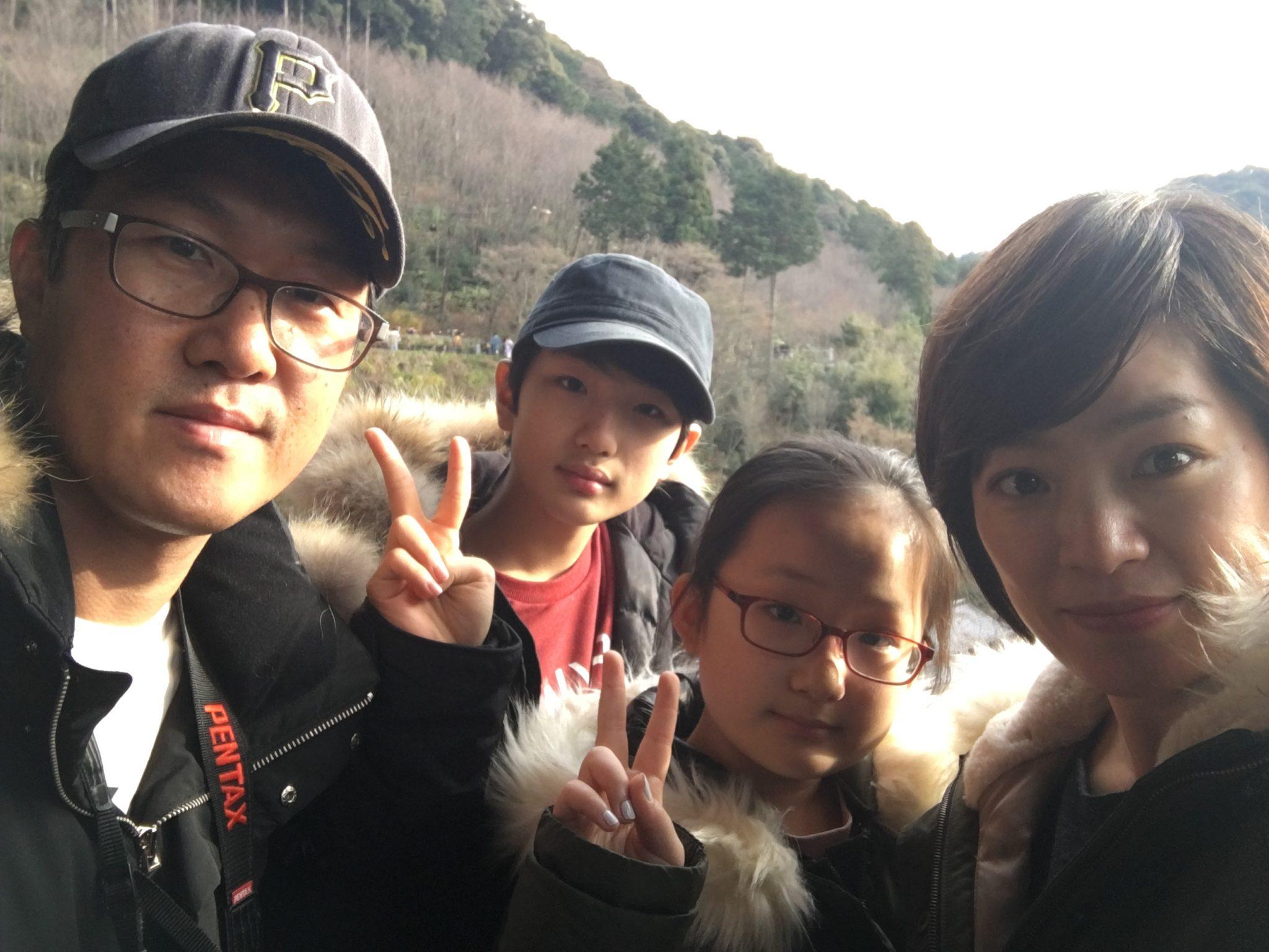 교토 청수사 가족사진
