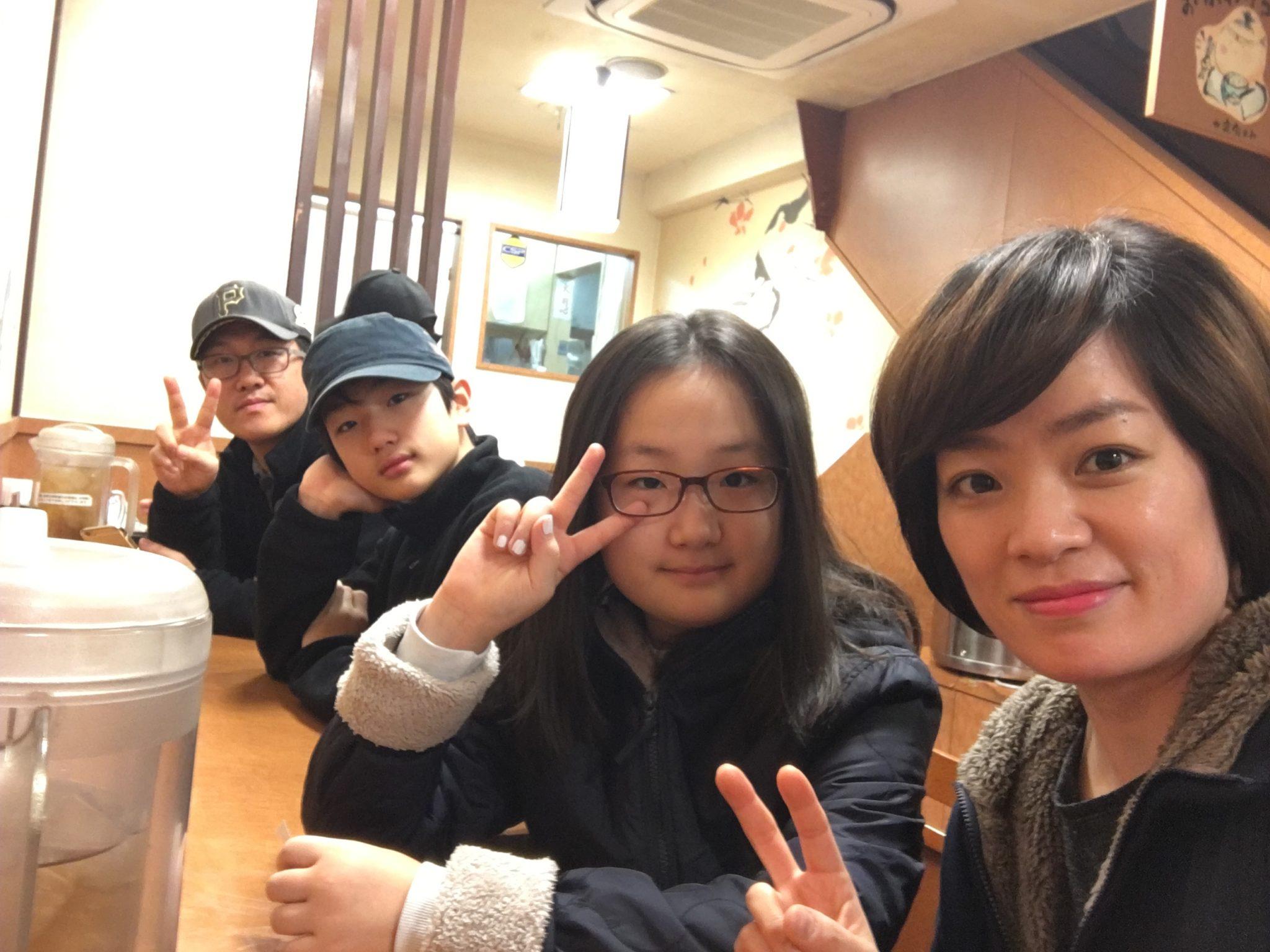 오사카 도톤보리 아침 식사