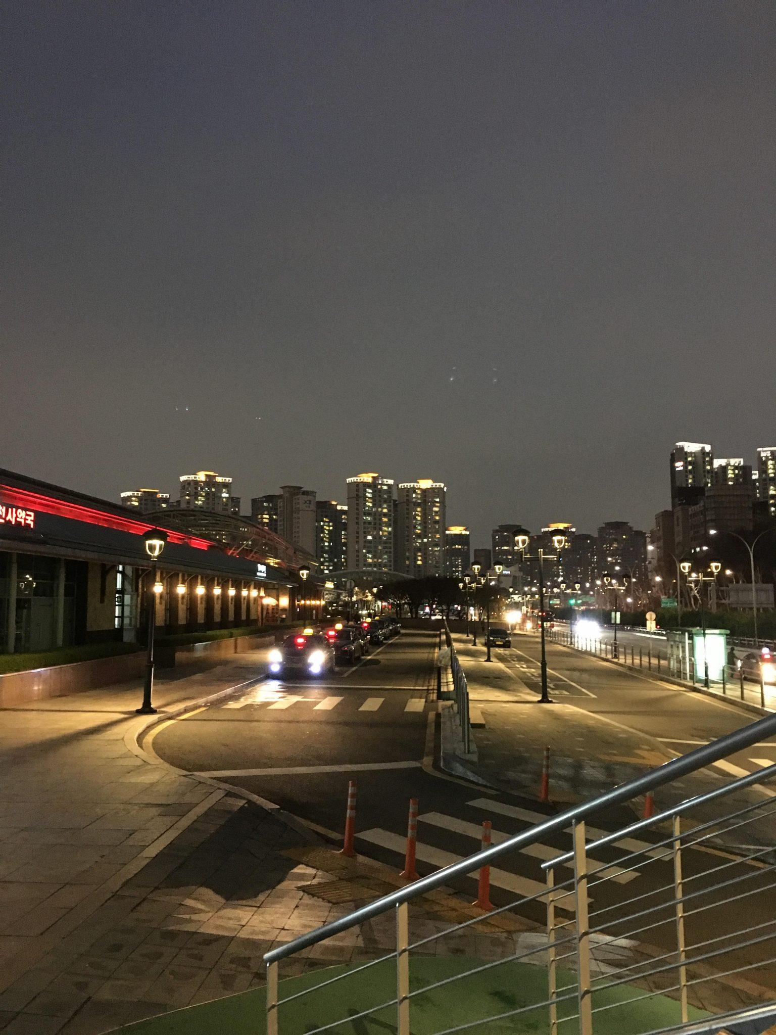 강남 고속터미널 부근