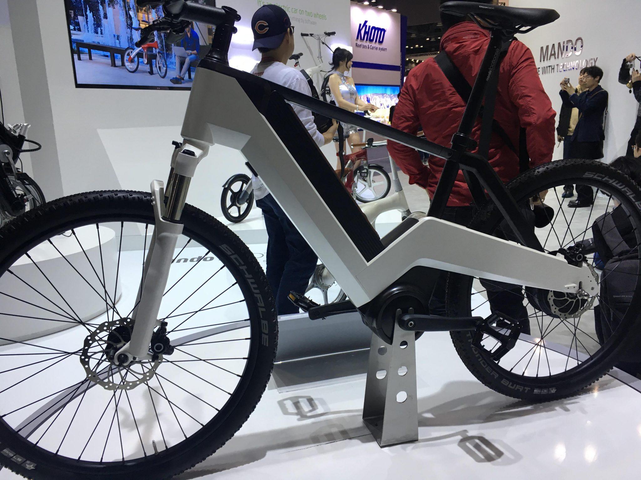 만도 전기자전거