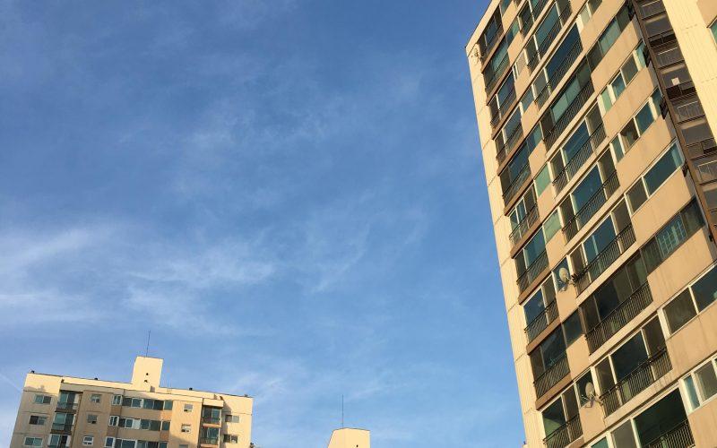 수내동 푸른 하늘