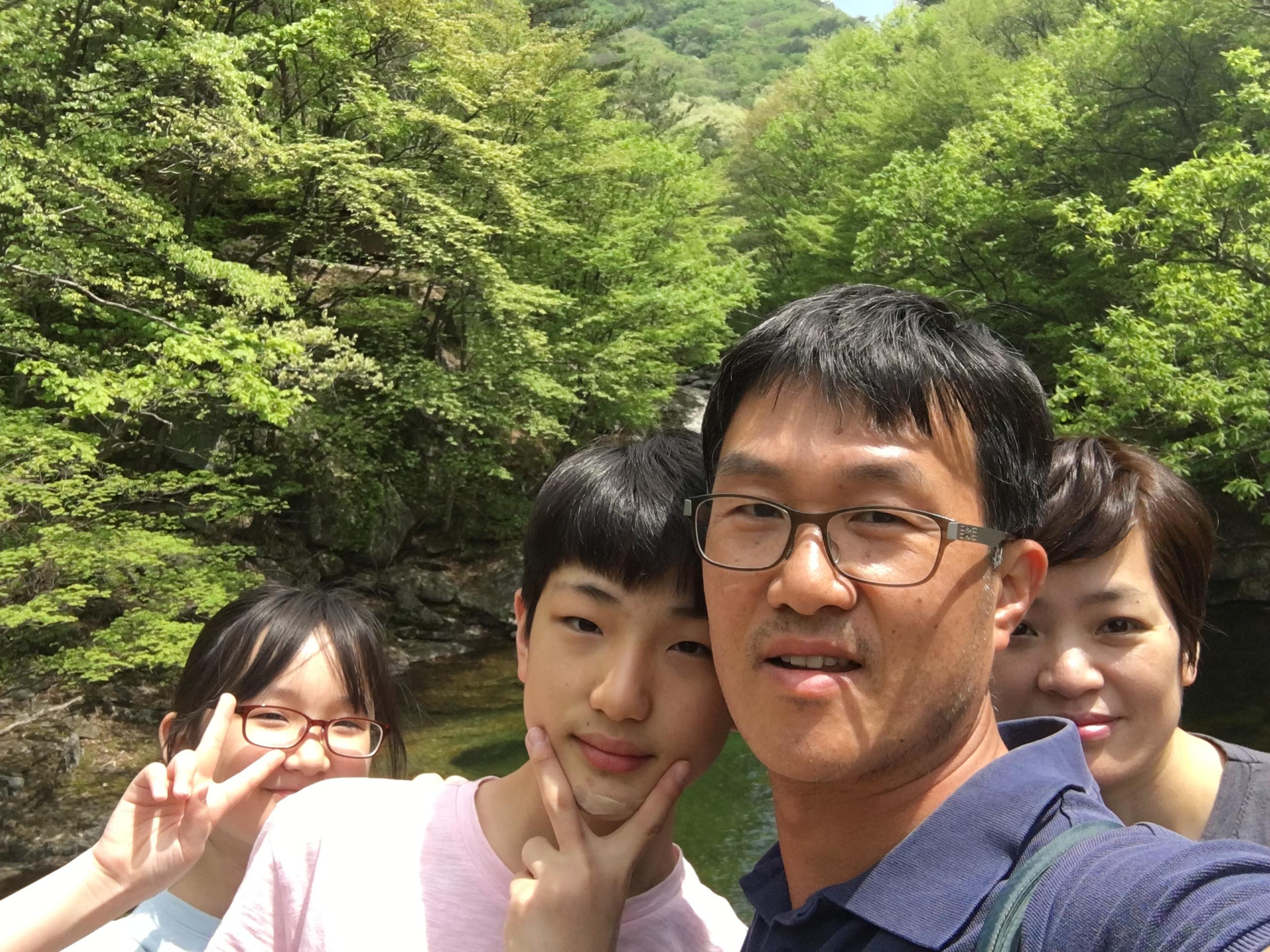 즐거웠던 무주구천동 계곡 가족 산책