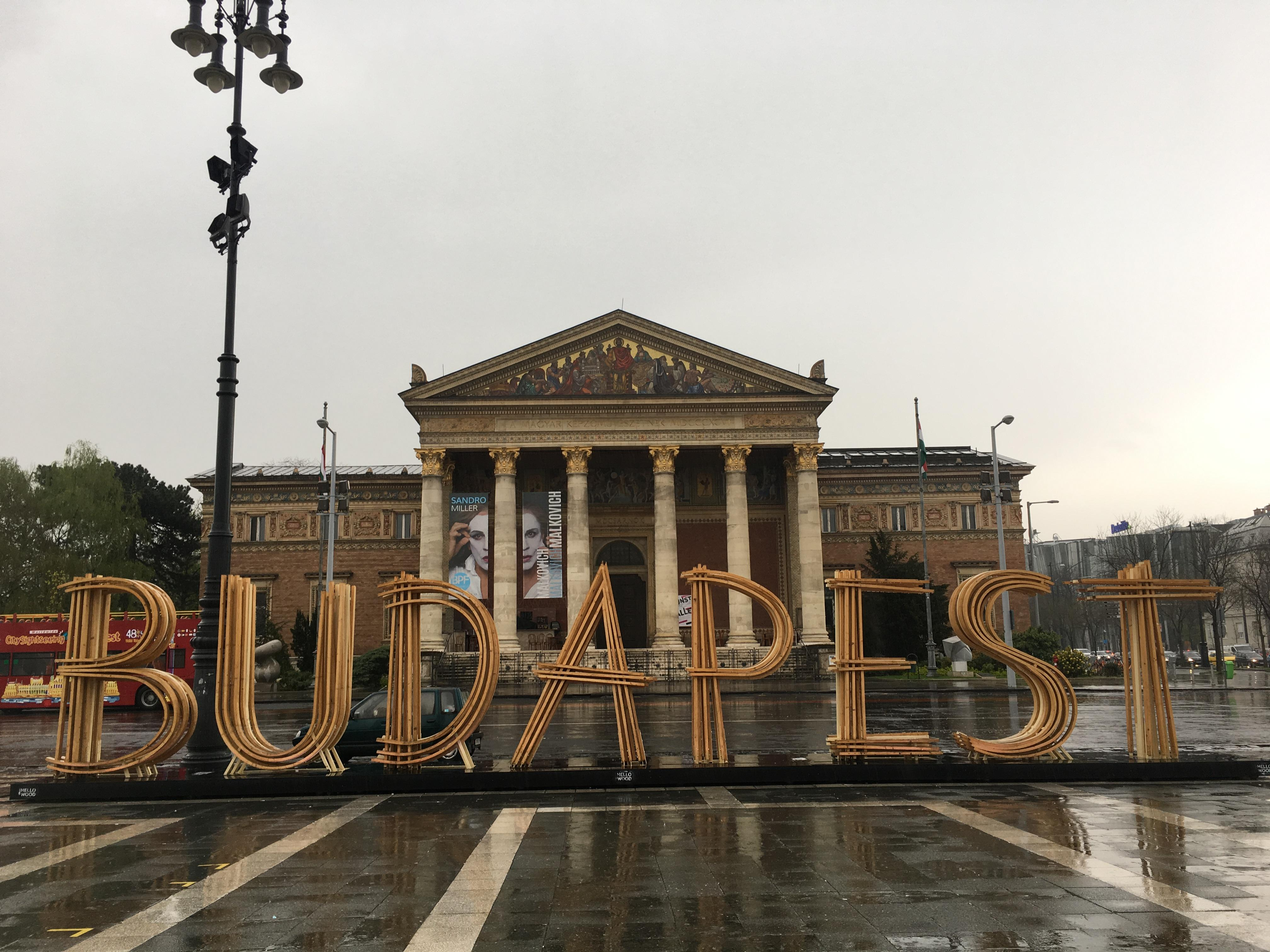 This is BUDAPEST