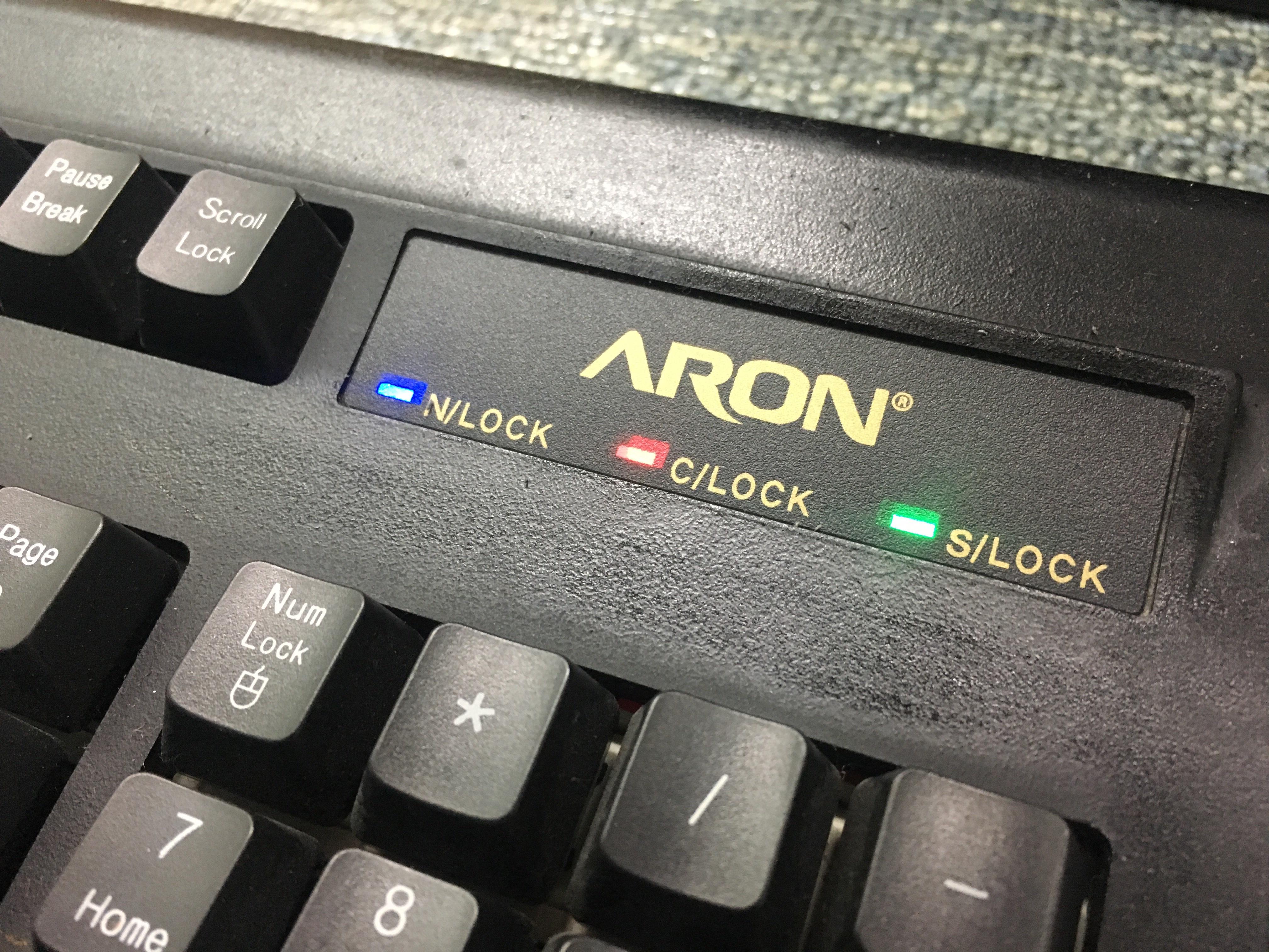 Aron 아론 기계식 키보드 LED