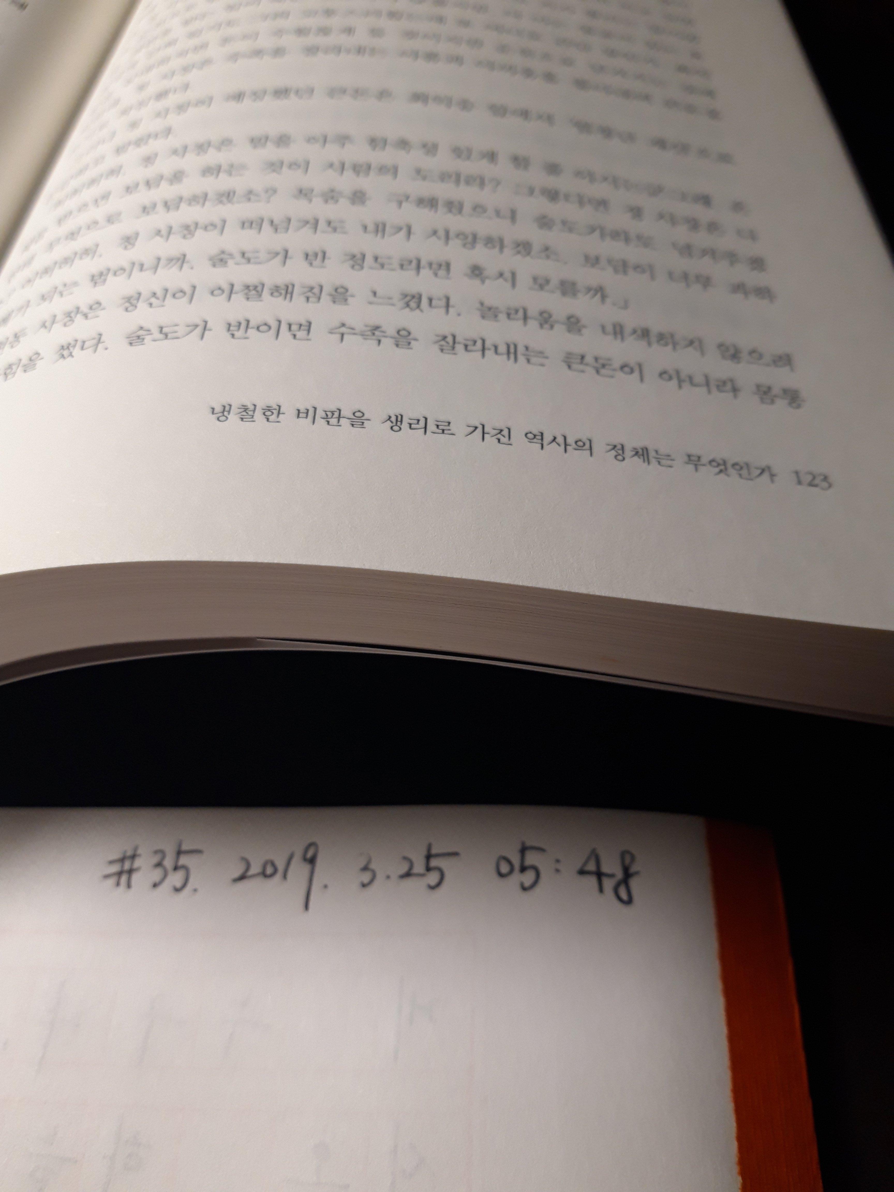 소설 태백산맥 만년필 필사