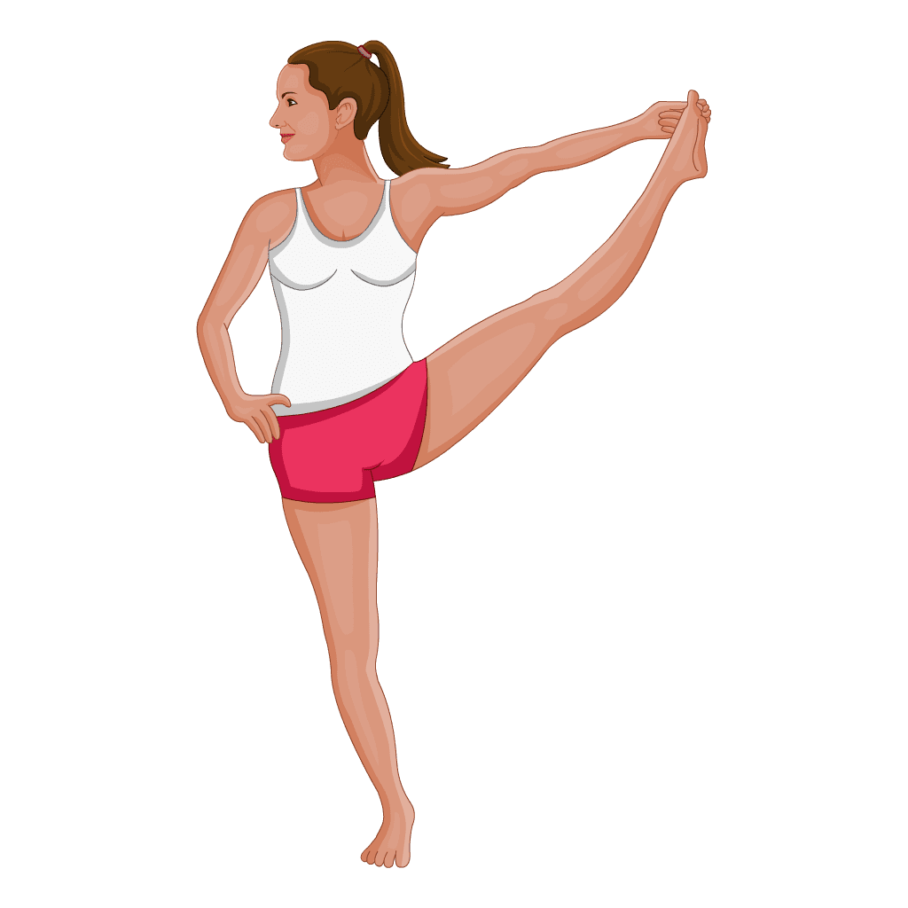extended-hand-big-toes-standing-leg-extension