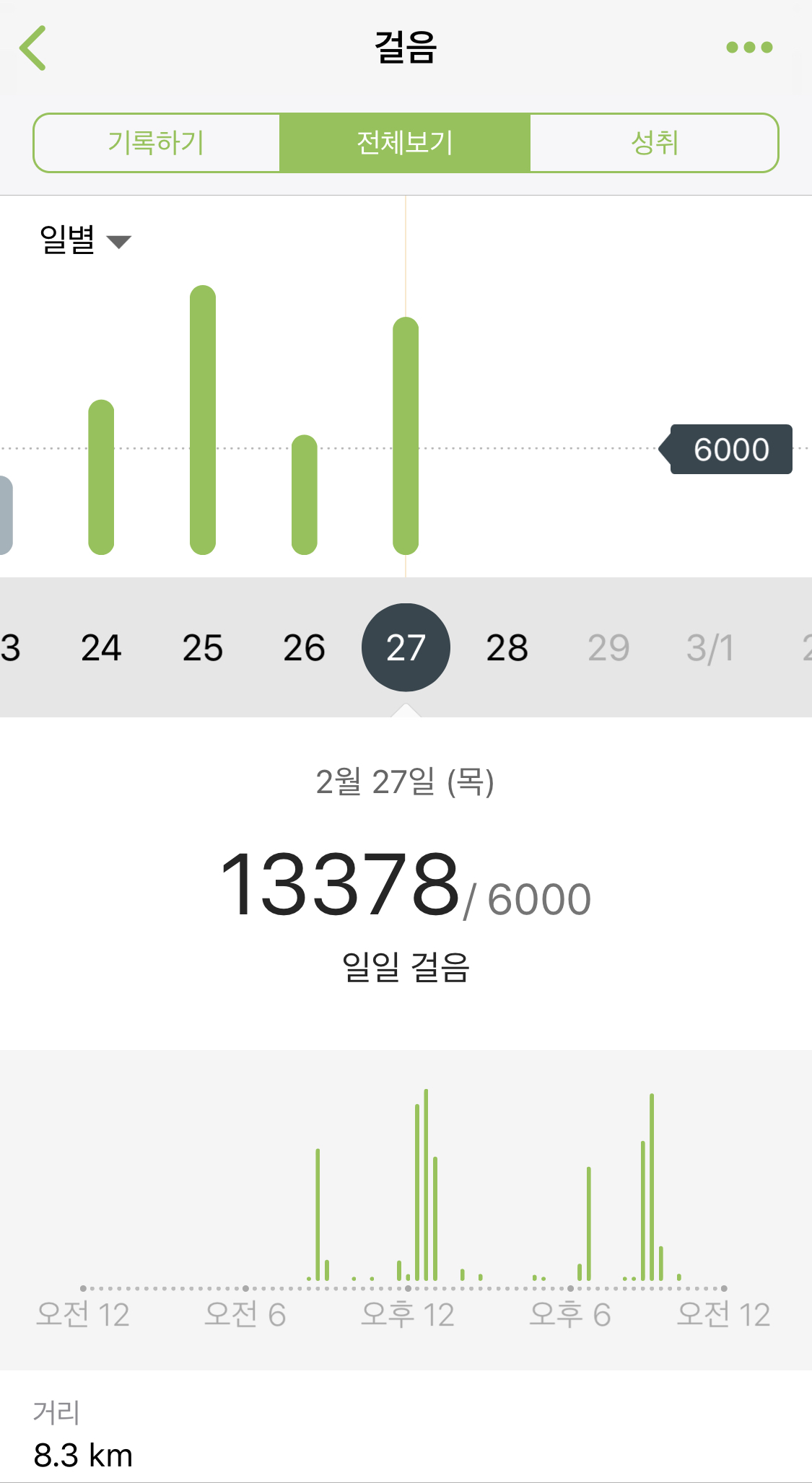 매일 걷기